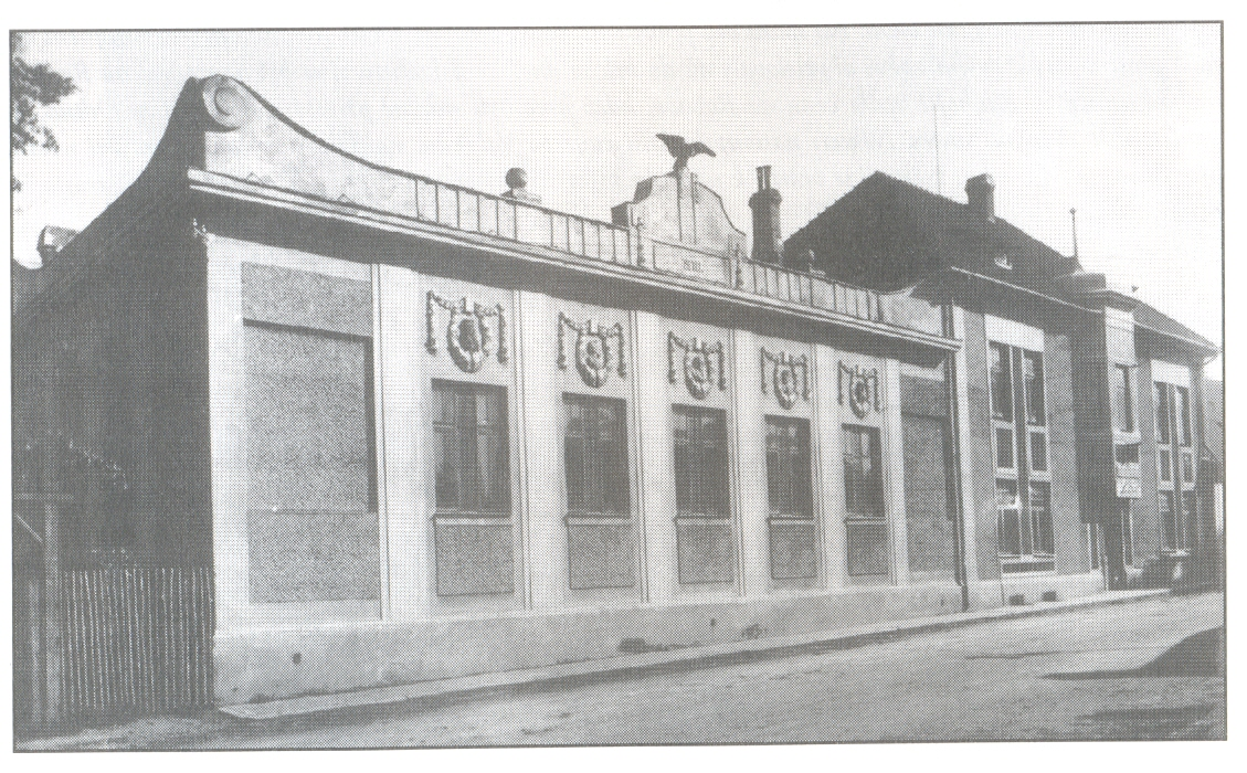 Sokolský dům v r.1910